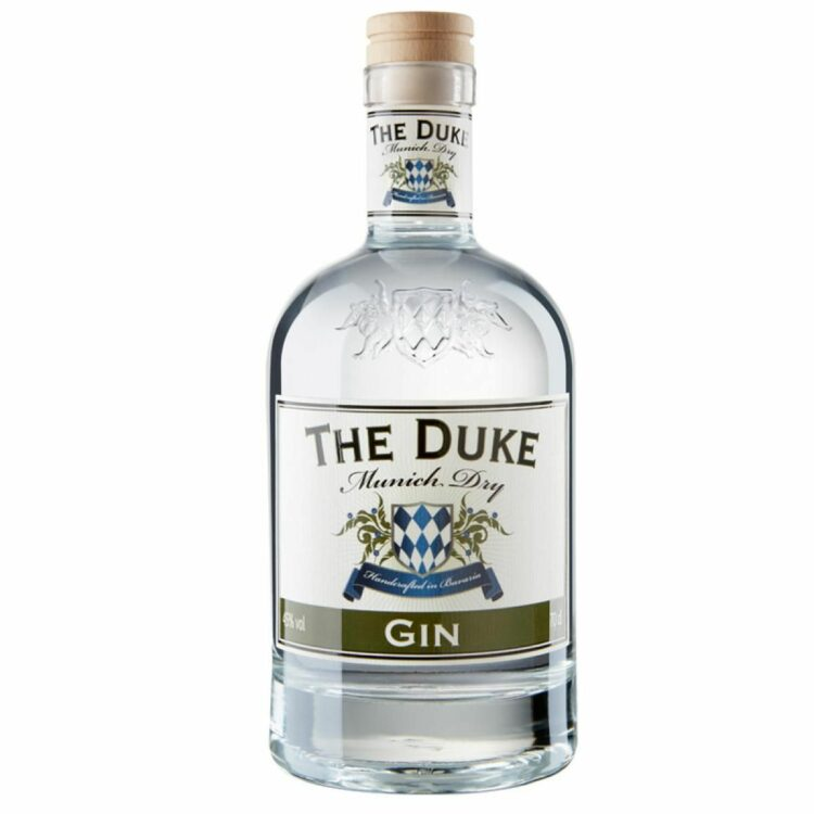 THE DUKE Munich Dry Gin 0,7l Freisteller vorne (neues Etikett)