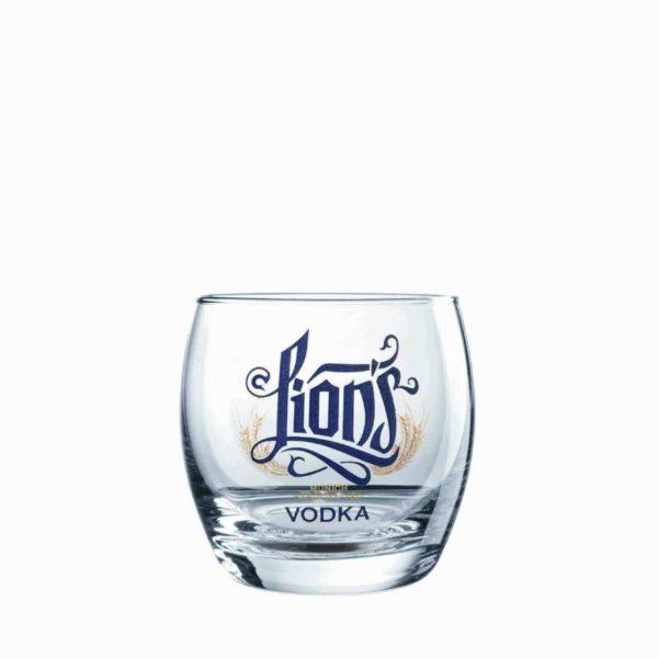 LION's Munich Handcrafted Vodka_Glas_Tumbler