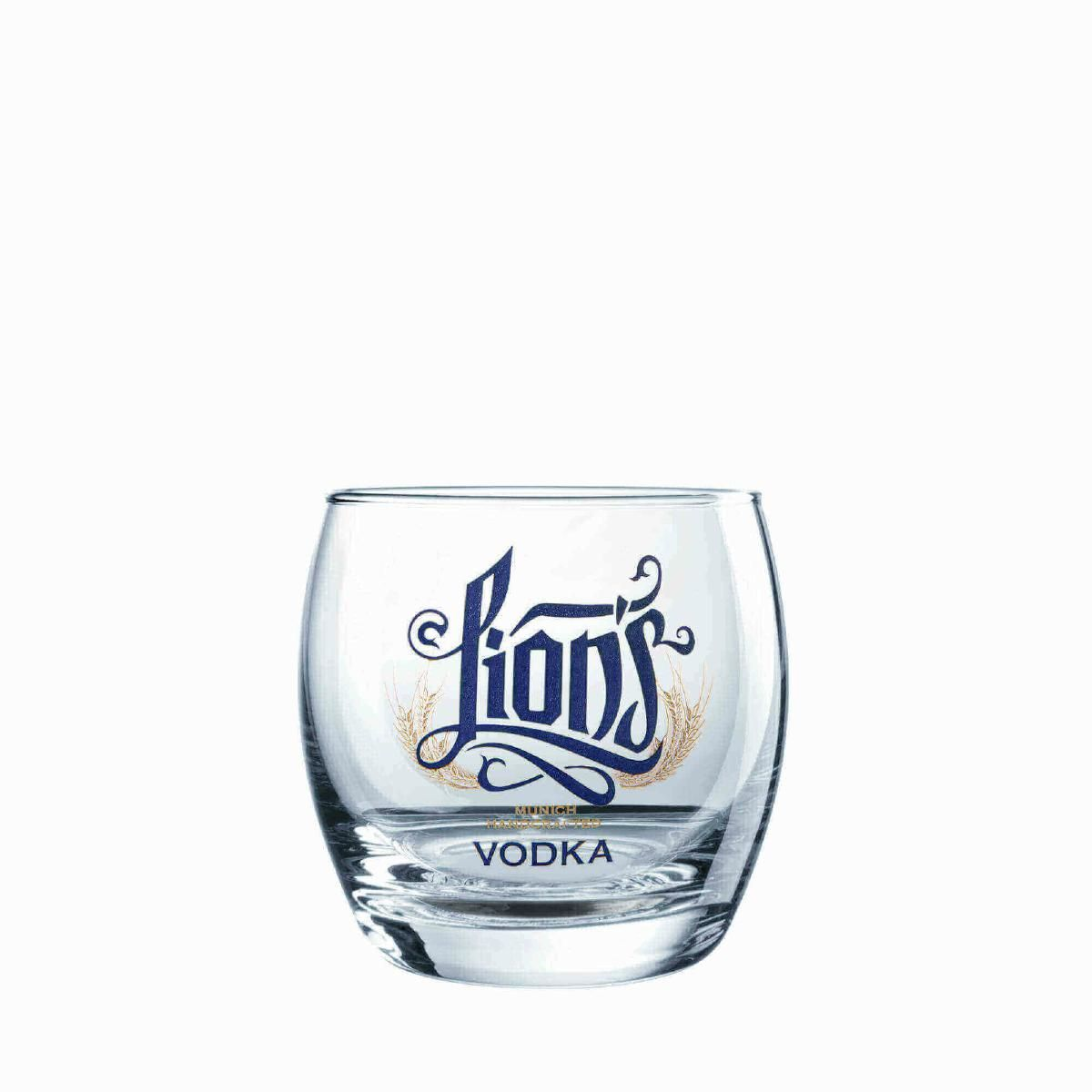 LION's Munich Handcrafted Vodka_Glas_Tumbler