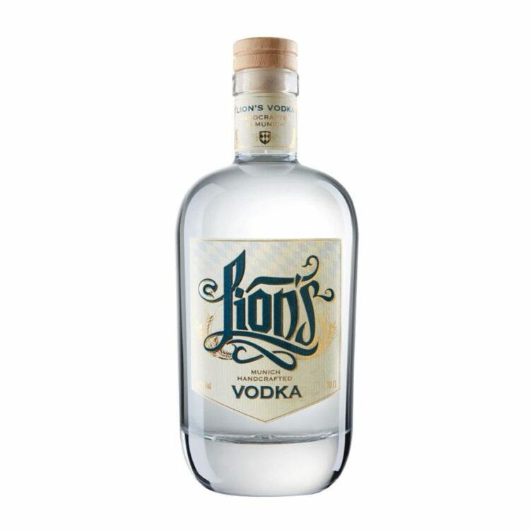 LION's Munich Handcrafted Vodka bio Flasche