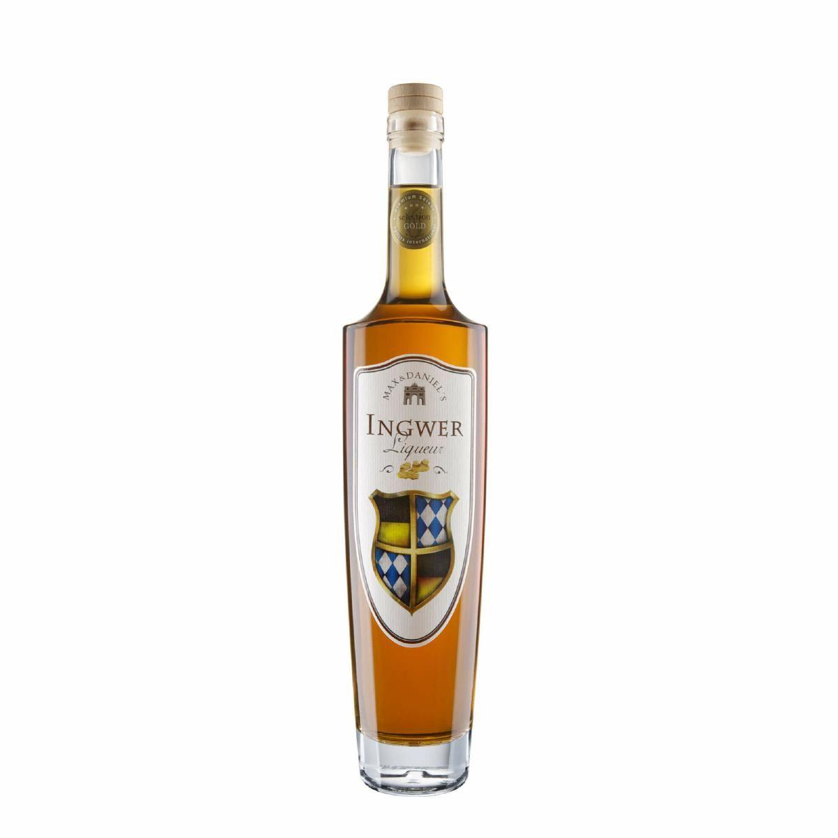 Max und Daniel's Ingwer Liqueur_Flasche_50 cl