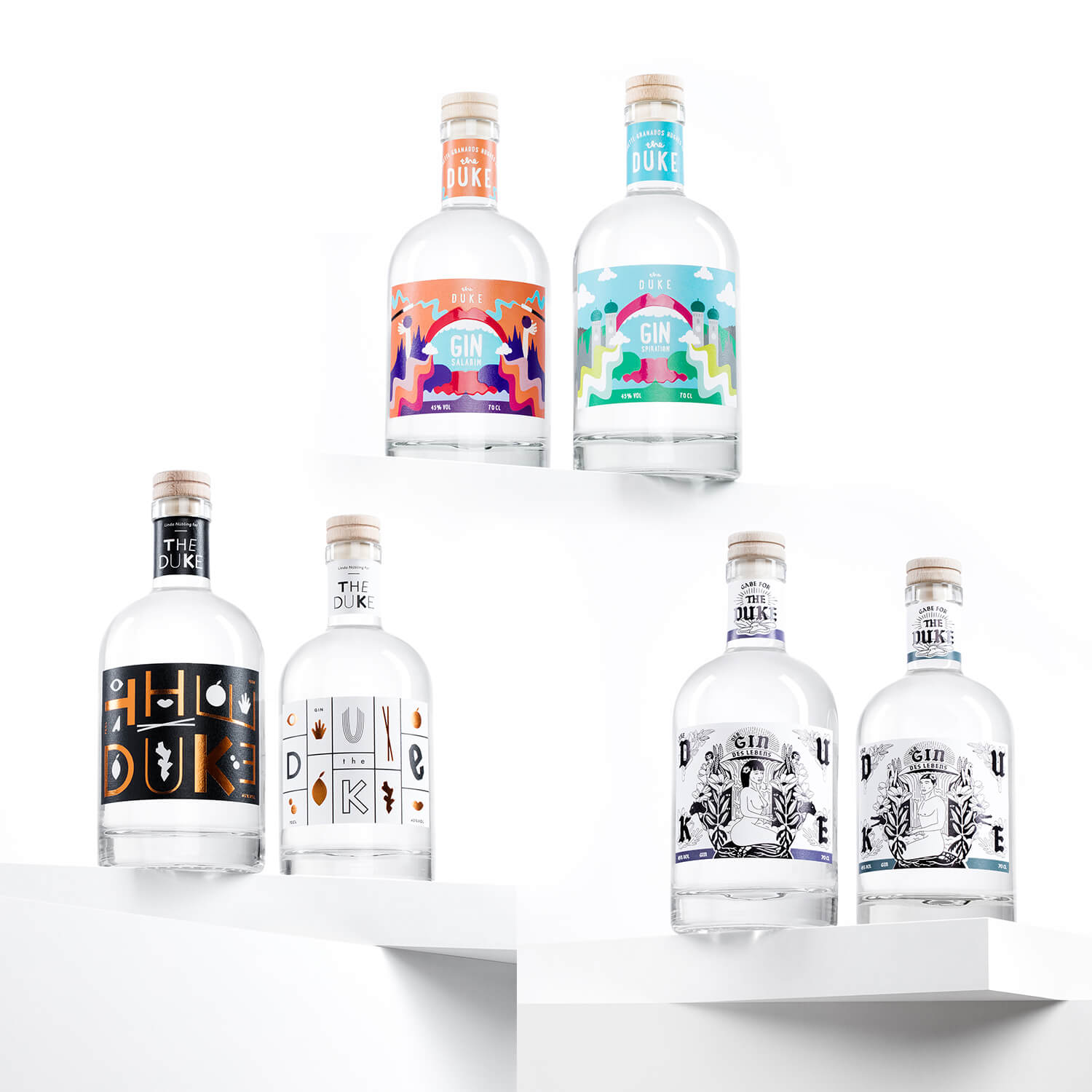 THE DUKE Gin – Limited Art Edition