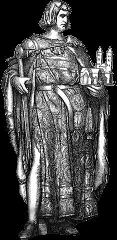 Herzog Heinrich der Löwe als Duke Namensgeber