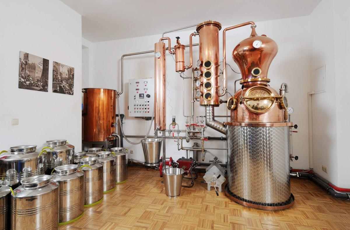 Gin Produktion_Destillationsanlage_Handgemacht aus München
