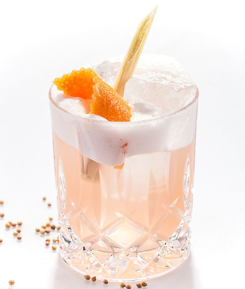 Gin Drink von THE DUKE mit Grapefruit