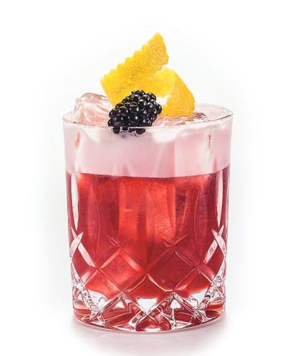 Gin Drink mit Himbeeren_Bramble