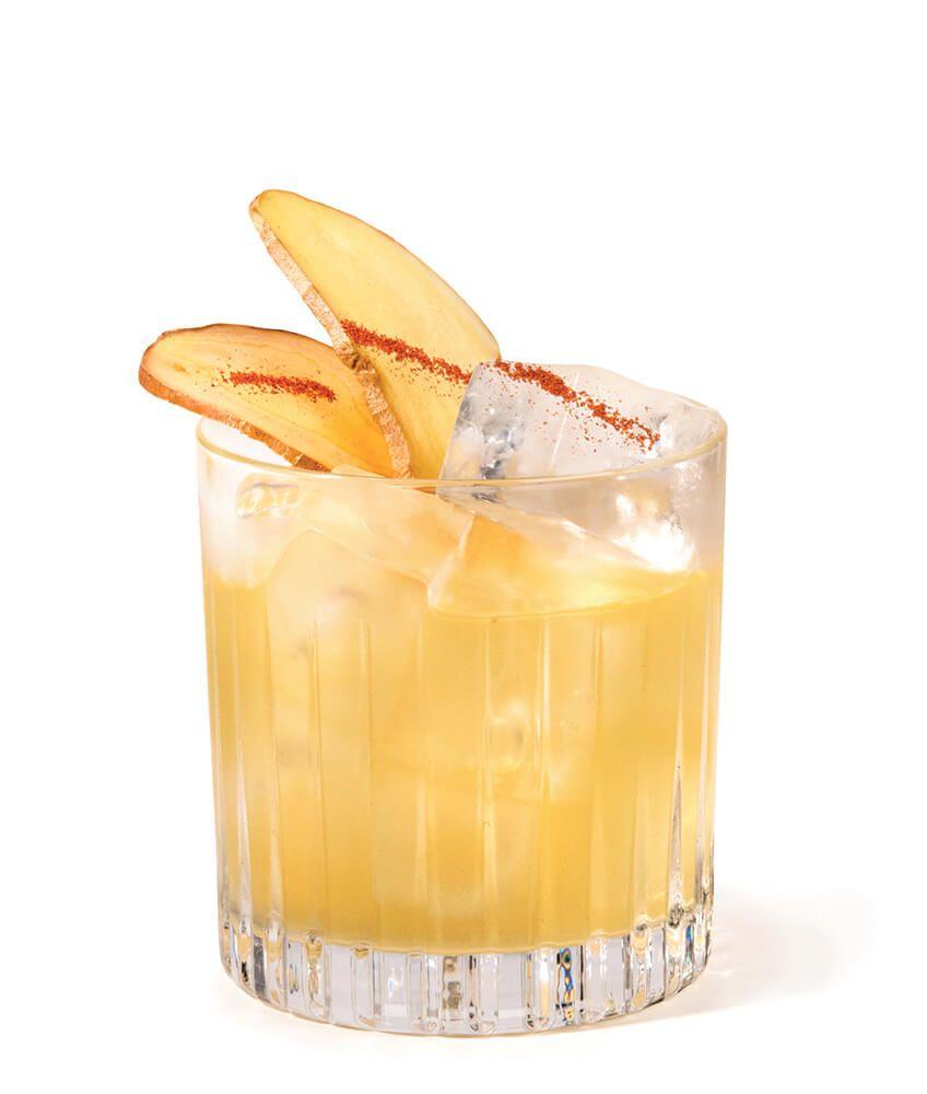Ingwer Sour Gin Cocktail mit Duke Gin