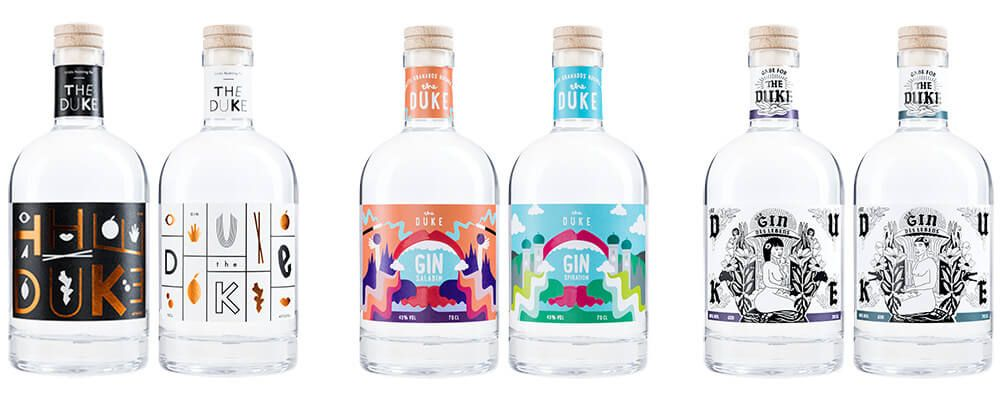 Gin Kunstedition_THE DUKE Gin_Sammlung