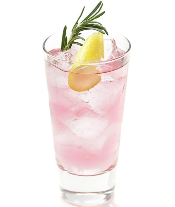 Gin Tonic mit Lavendel Infusion