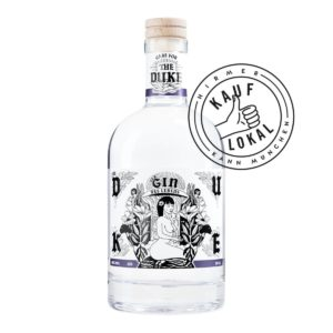 THE DUKE Gin Kunstedition Frau bei Hirmer Kauf Lokal