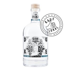 THE DUKE Gin Kunstedition Mann bei Hirmer Kauf Lokal