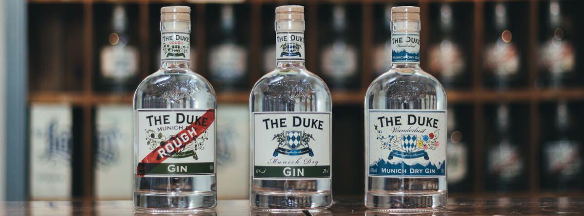 THE DUKE Destillerie Gin Trio