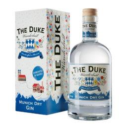 THE DUKE Wanderlust Gin mit Geschenkkarton Freisteller ohne Prägung