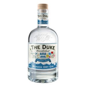 THE DUKE Wanderlust Gin mit weißem Hintergrund