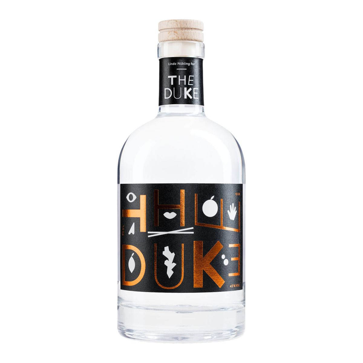 DUKE Gin Kuperdedition_black
