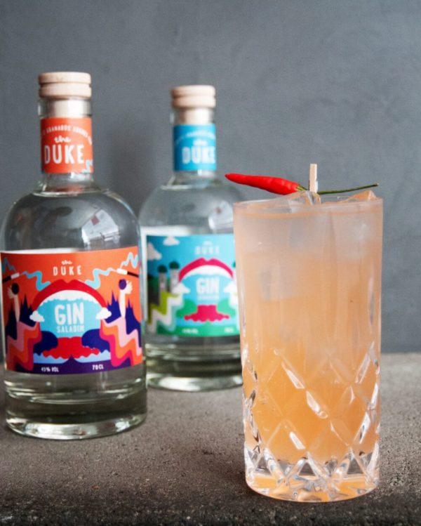 Ginsalabim_Signature Drink_Kunstedition_THE DUKE Gin