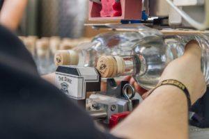 Der München Gin bei der Produktion