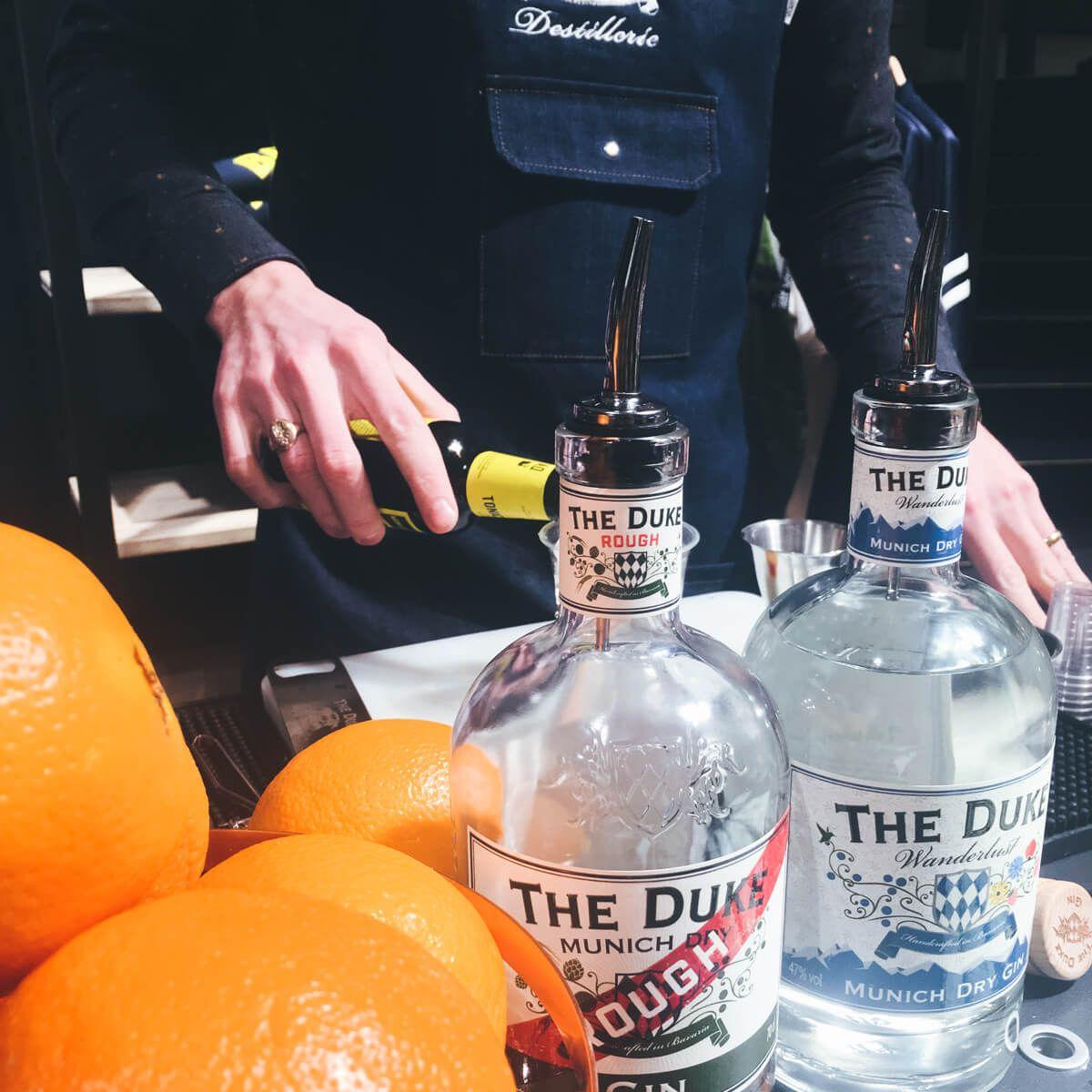 THE DUKE Gin Kauf Lokal Verkostung Hirmer