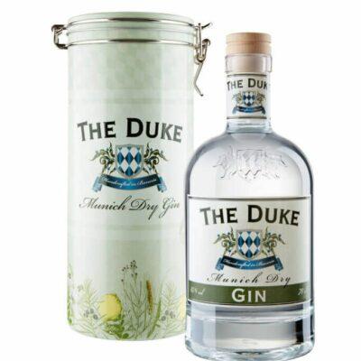 THE DUKE Munich Dry Gin mit Geschenkdose Freisteller