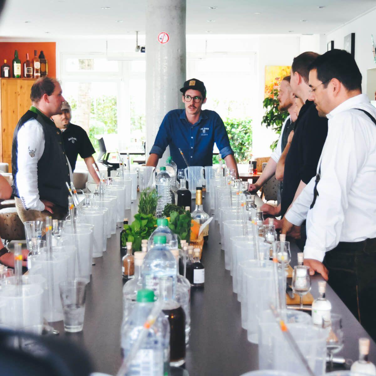 THE DUKE Destillerie Bartender Workshop