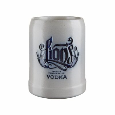LION'S Vodka Steinkrug