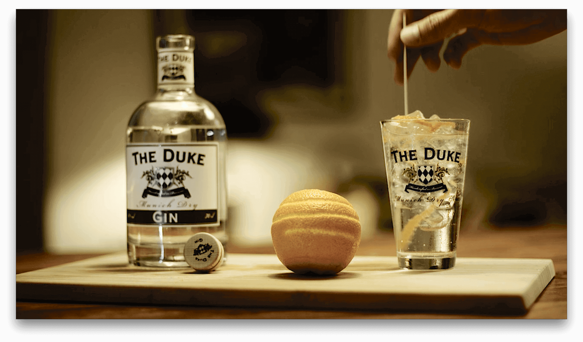 THE DUKE Gin Tonic Homebar