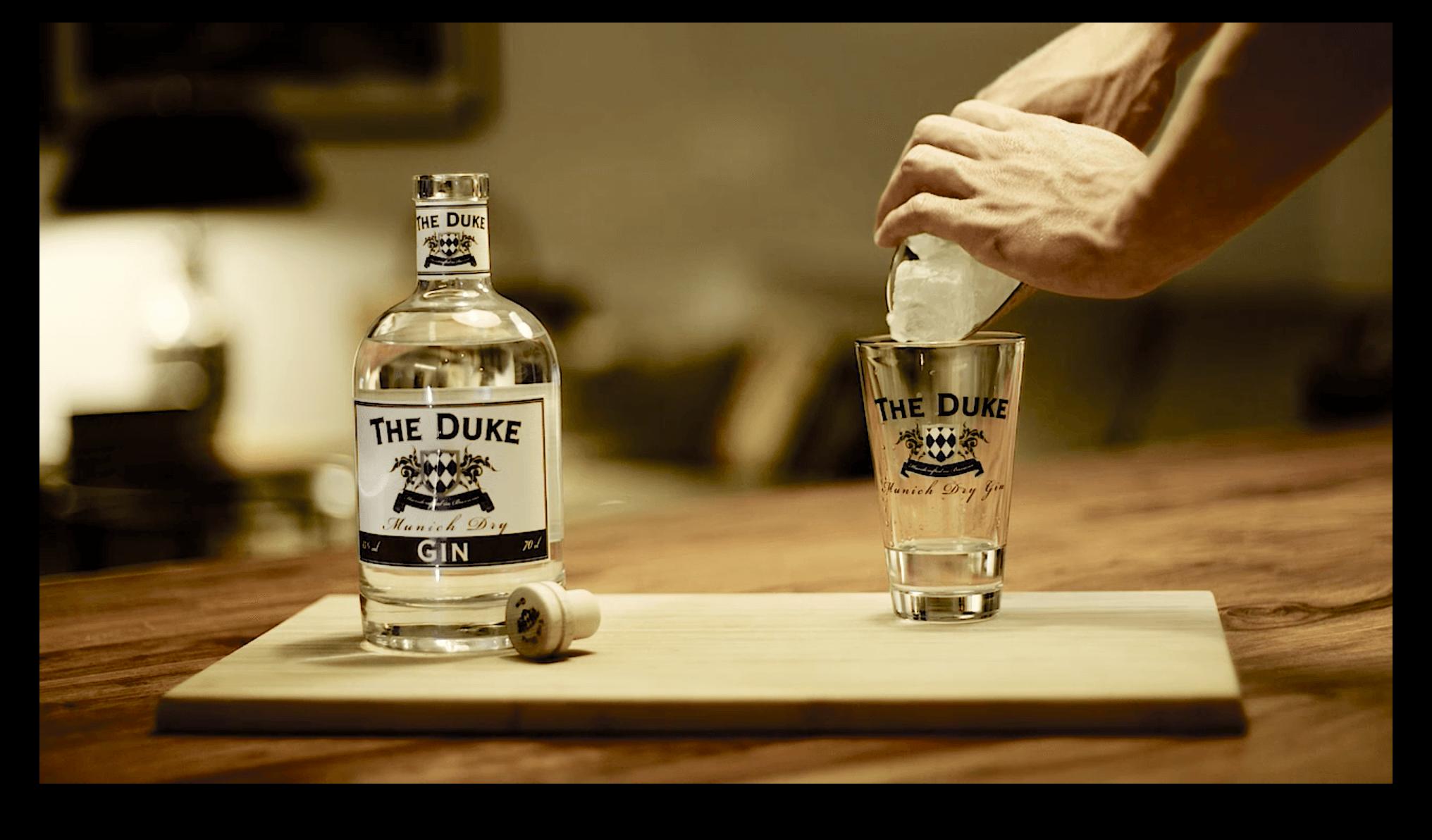 Gin Tonic Vorbereitung