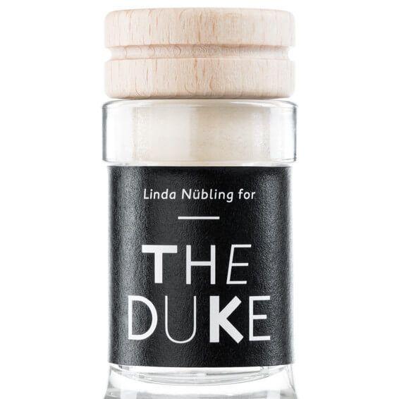 THE DUKE Gin_Kunstedition_Kupfer_black_Halsetikett