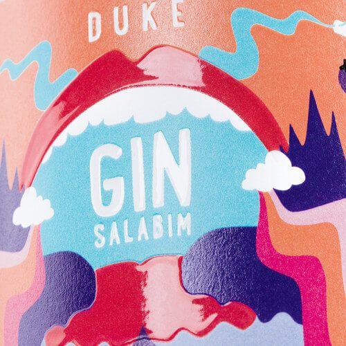 THE DUKE Gin_Kunstedition_MunichMagic_ginsalabim_Frontetikett