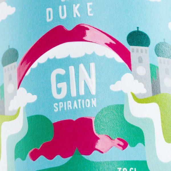 THE DUKE Gin_Kunstedition_MunichMagic_ginspiration_Frontetikett