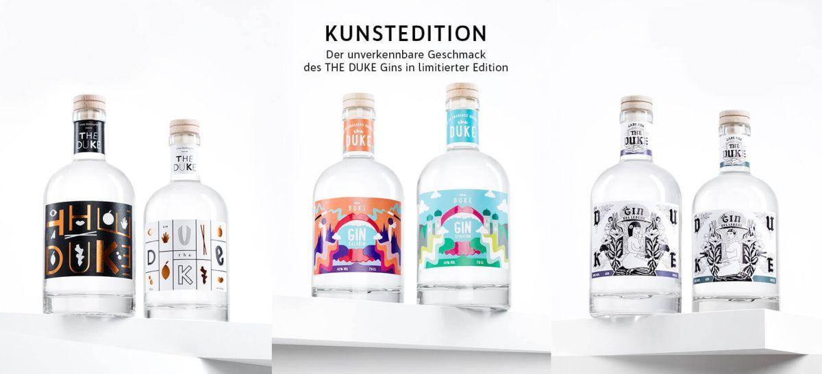 Gin kaufen bei THE DUKE Gin in München_Kunstedition