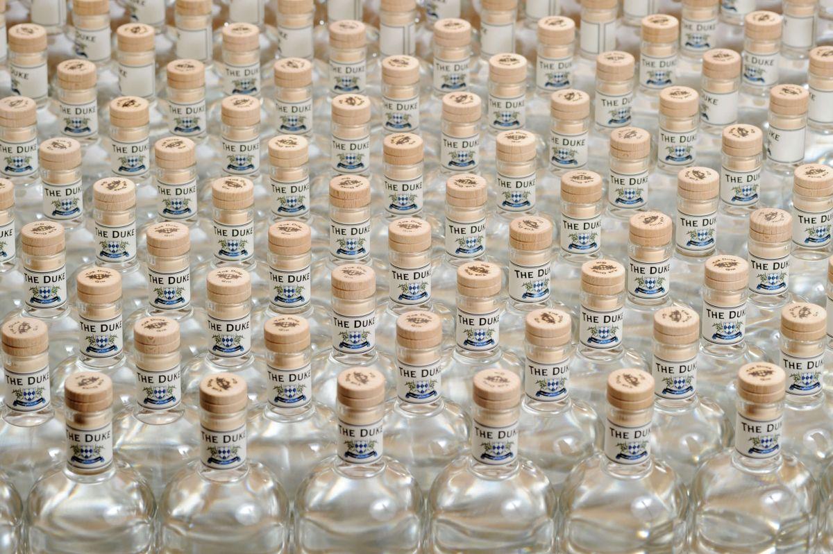 gin in flaschen