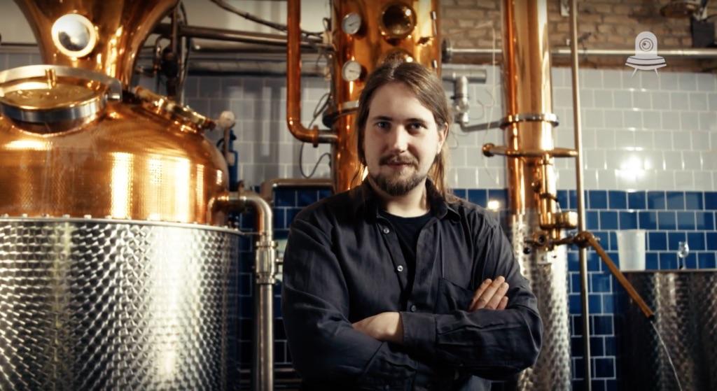 THE DUKE Destillateur Magic vor Kupferdestille