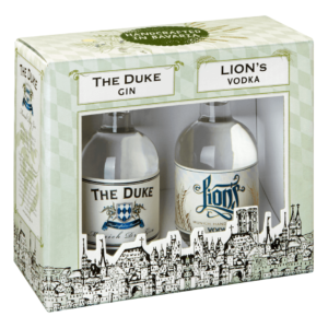 LIONs Vodka, THE DUKE Gin Geschenksets