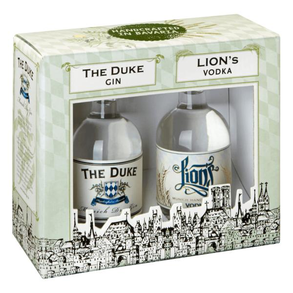 LIONs Vodka, THE DUKE Gin Geschenksets