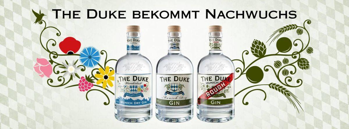 Banner THE DUKE Gin Trio