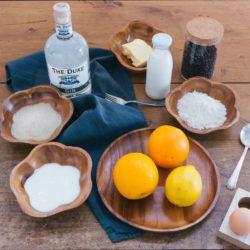 Zubereitung Gin Tonic Kuchen