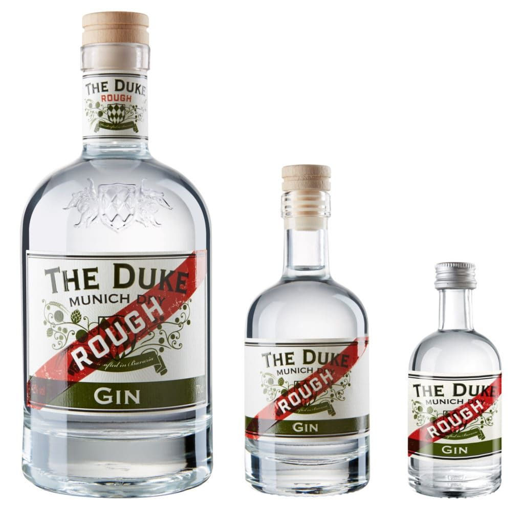 THE DUKE Rough Gin in drei Größen