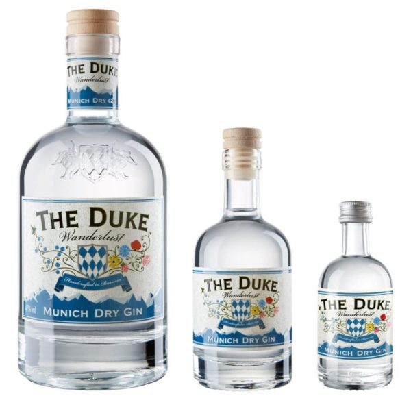THE DUKE Wanderlust Gin in drei Größen