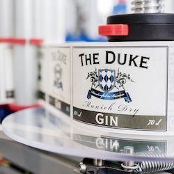 THE DUKE Etiketten