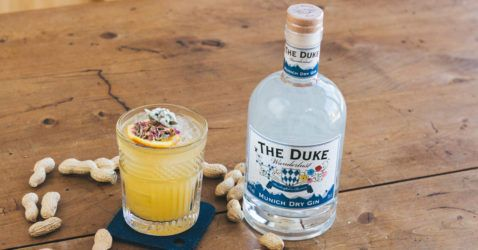 "THE DUKE Wanderlust Gin ""Blumenwiese"" Cocktail"
