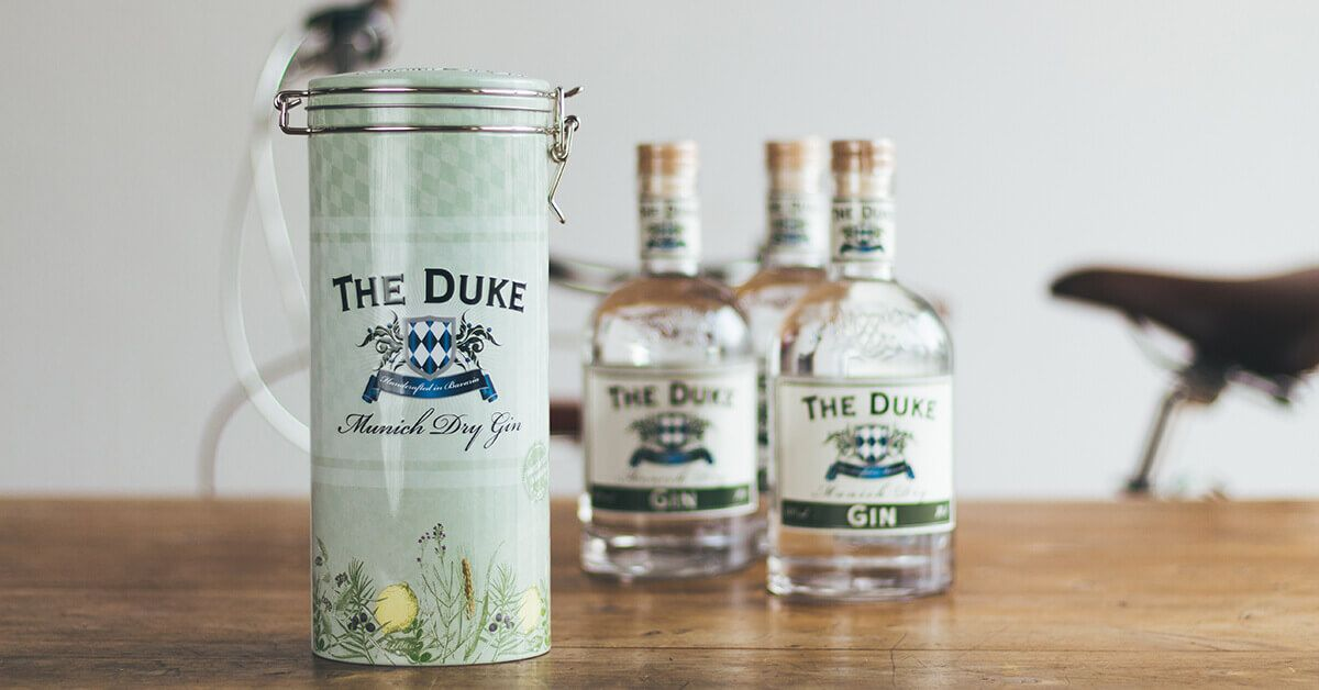 THE DUKE Munich Dry Gin Metalldose zum Verschenken