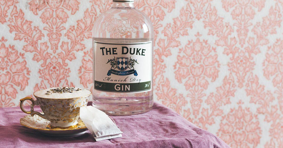 "THE DUKE Gin ""Tea Time"" Cocktail"