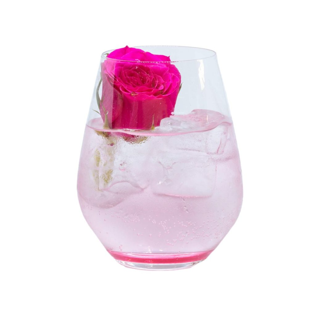 "THE DUKE Wanderlust Gin Cocktail ""Rose Garden"""
