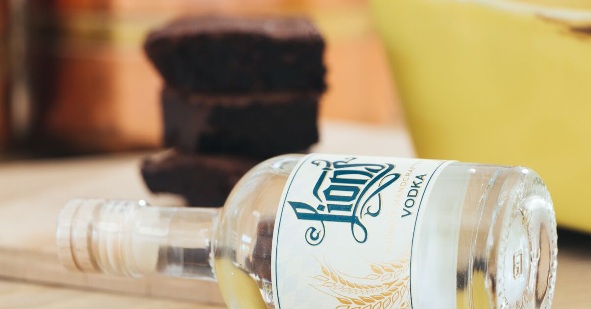 LION's Vodka Brownies