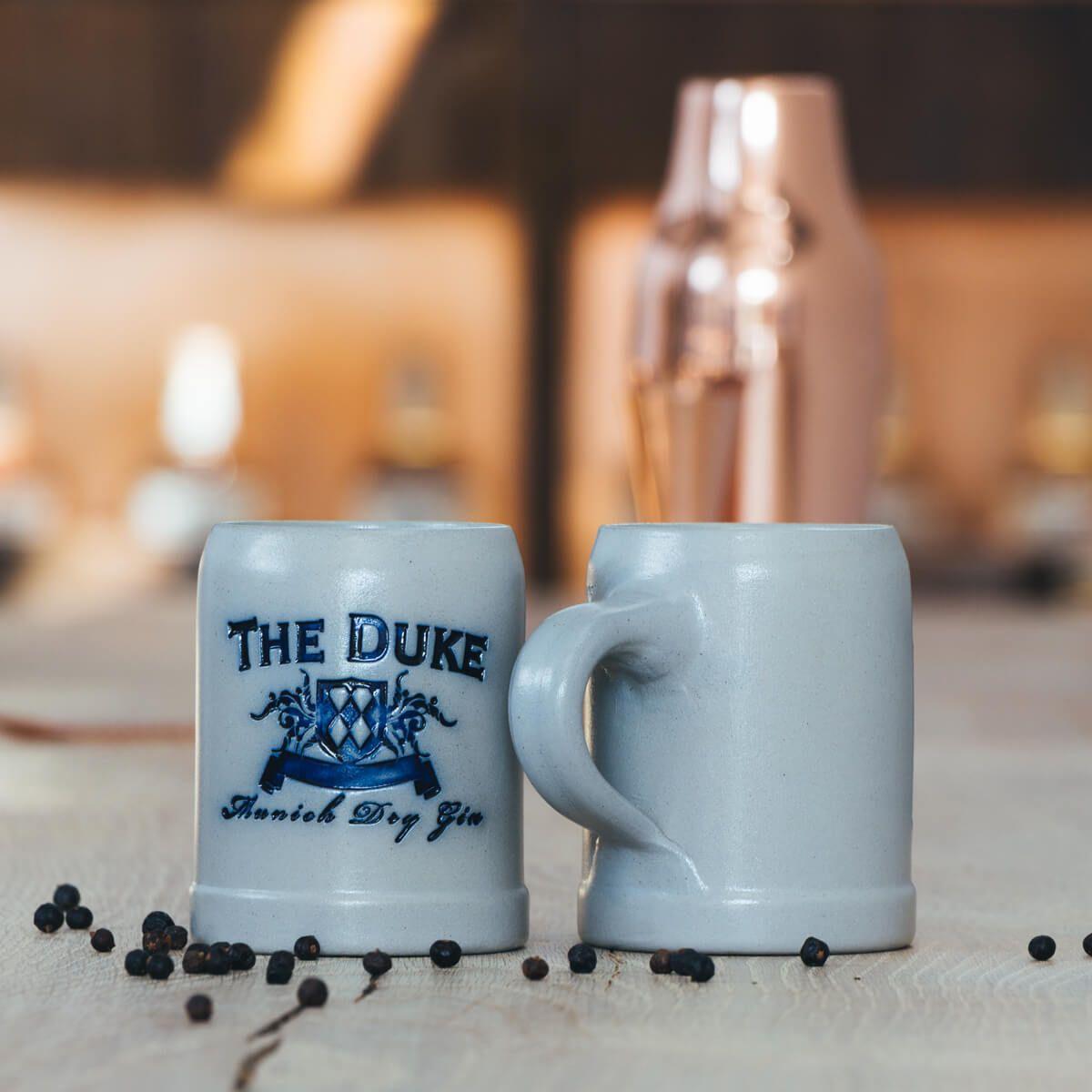 THE DUKE Munich Dry Gin handgefertigte Steinkrüge