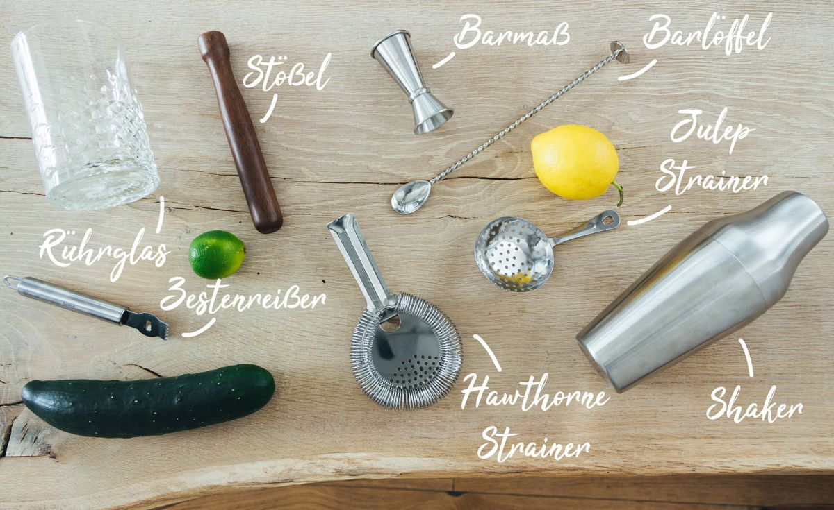 THE DUKE Bartools für die Hausbar