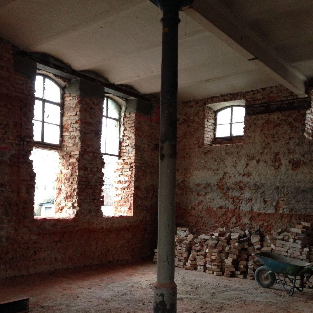 Renovierungsarbeiten in der neuen The Duke Destillerie