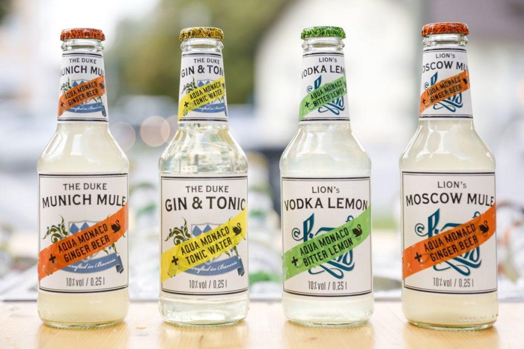 THE DUKE Bottled Longdrinks