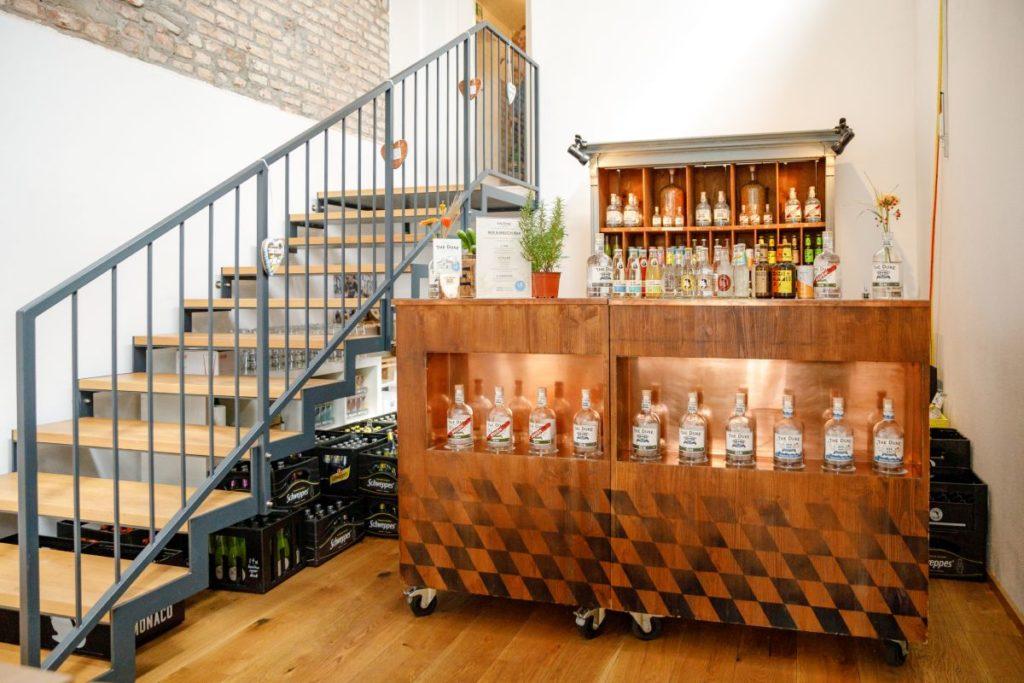 Mix & Match Bar am Tag der offenen Tür der THE DUKE Destillerie